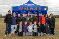Walpole Girls Cross Country @ MA All-State Championship November 18th, 2017